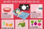 Người bệnh sốt xuất huyết nên ăn gì và kiêng ăn gì cho nhanh khỏe?