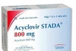 Acyclovir 800mg là thuốc gì?, Công dụng, Tác dụng phụ, Liều lượng và Lưu ý khi dùng