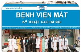 Bệnh viện Mắt kĩ thuật cao Hà Nội