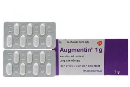 Thuốc Augmentin có thành phần gì? và hàm lượng như thế nào?