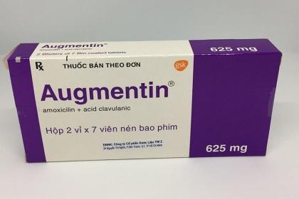 Liều dùng thuốc Augmentin cho trẻ em