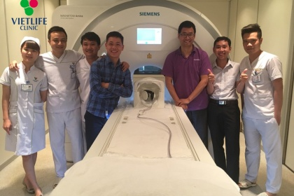 Chụp cộng hưởng từ MRI Phòng khám Vietlife