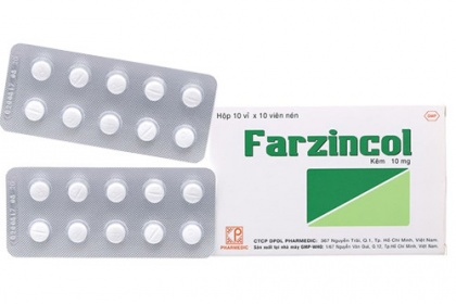 Thuốc farzincol được sử dụng để điều trị bệnh gì?
