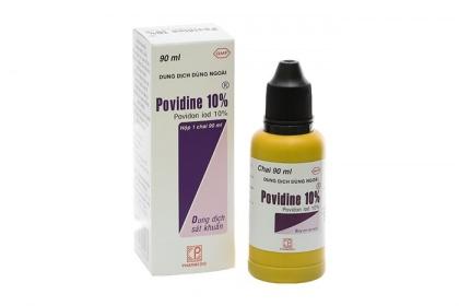 Thuốc sát trùng Povidine dùng để làm gì?
