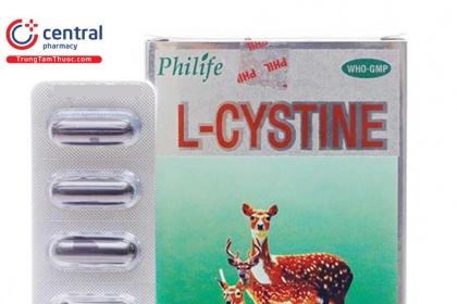 U xơ tử cung uống thuốc có thành phần L-Cystine được không?