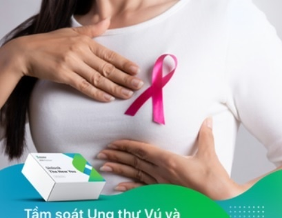 Tầm soát ung thư vú và ung thư buồng trứng di truyền (DNA + Breast K): 2 GEN BRCA1 và BRCA2