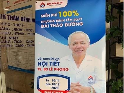 Tầm soát đái tháo đường với tiến sĩ, bác sĩ Lê Phong