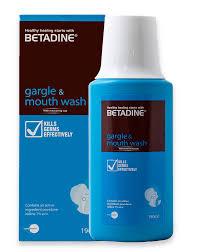 Ảnh của Betadine Gargle and Mouthwash®