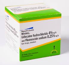 Ảnh của Lidocaine + Fluorescein