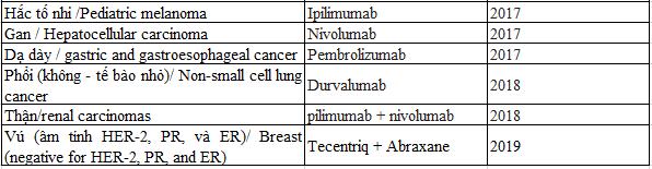 Điều trị ung thư của liệu pháp ức chế chốt kiểm soát miễn dịch - ảnh 3