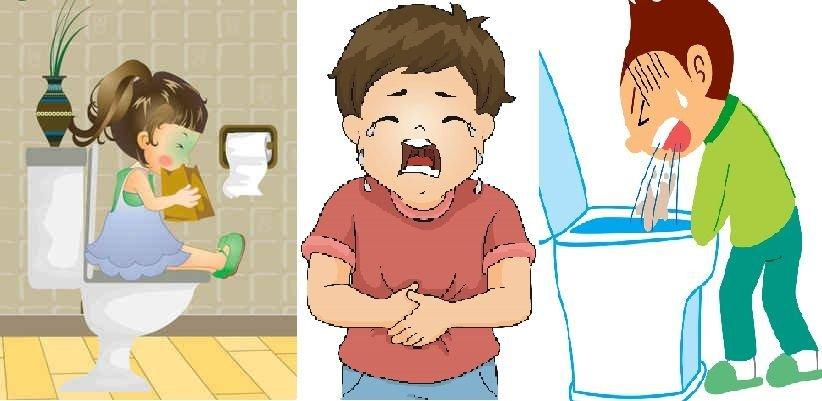 Cha mẹ cần làm gì khi bé bị nôn?, Nguyên nhân trẻ bị nôn - ảnh 1